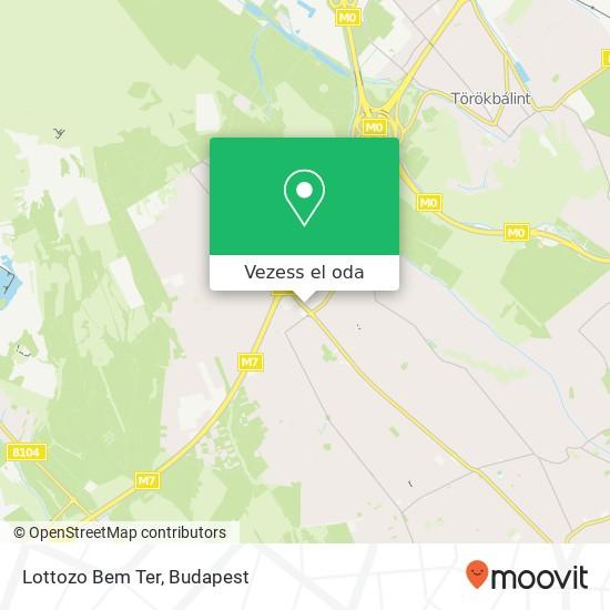 Lottozo Bem Ter térkép