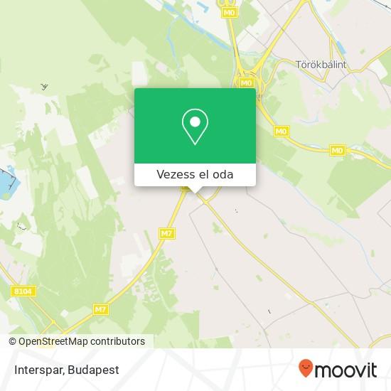Interspar térkép