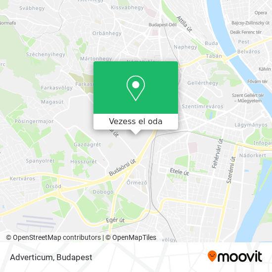 Adverticum térkép