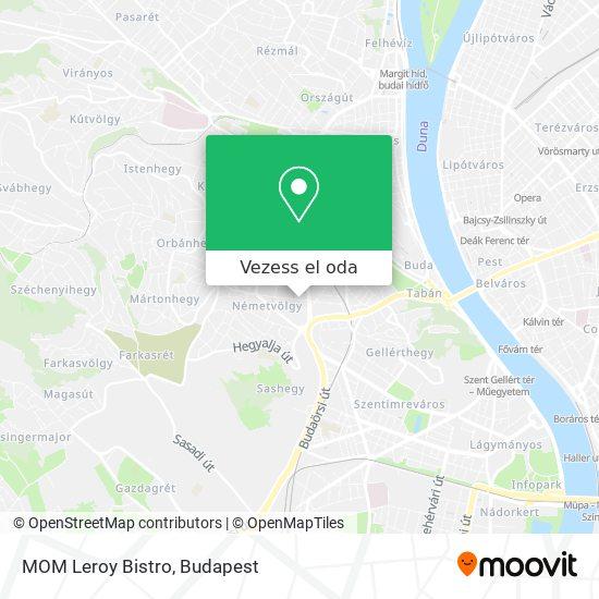 MOM Leroy Bistro térkép