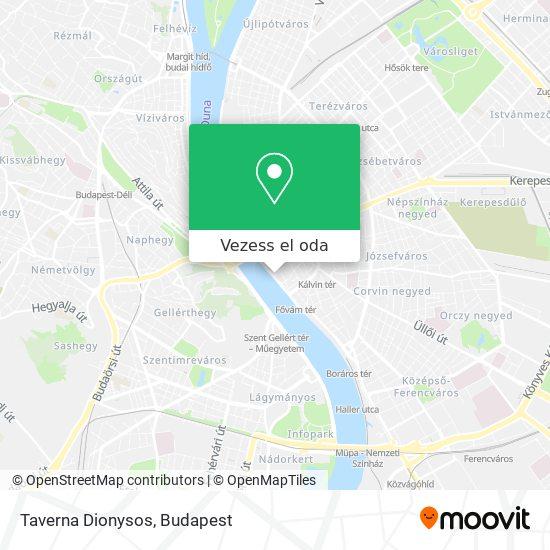 Taverna Dionysos térkép