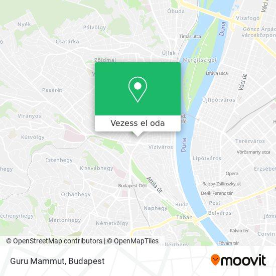 Guru Mammut térkép