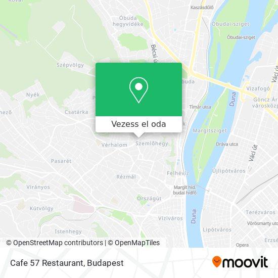 Cafe 57 Restaurant térkép