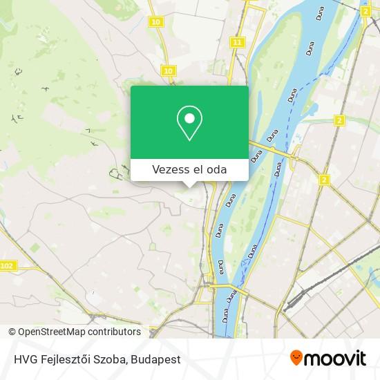 HVG Fejlesztői Szoba térkép