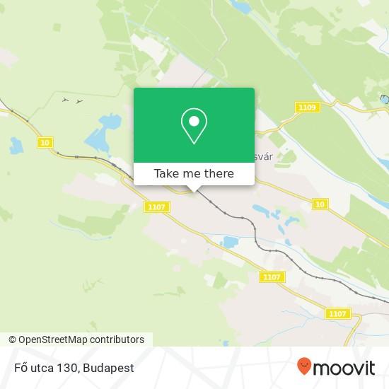 Fő utca 130 térkép