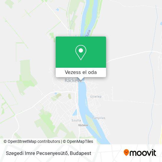 Szegedi Imre Pecsenyesütő térkép