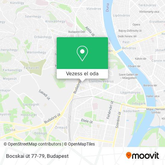 Bocskai út 77-79 térkép