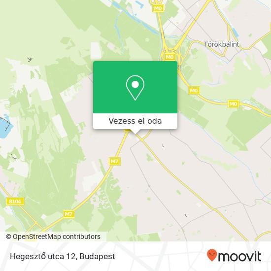 Hegesztő utca 12 térkép
