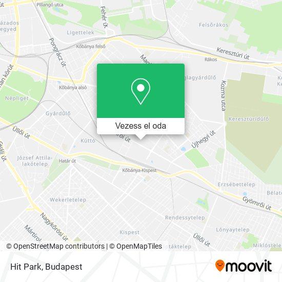 Hit Park térkép