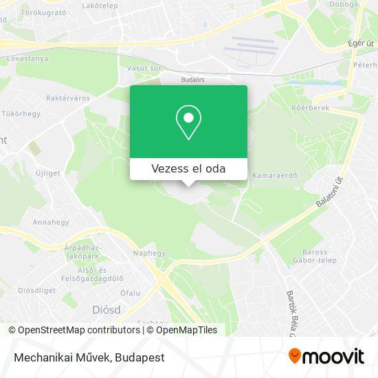 Mechanikai Művek térkép