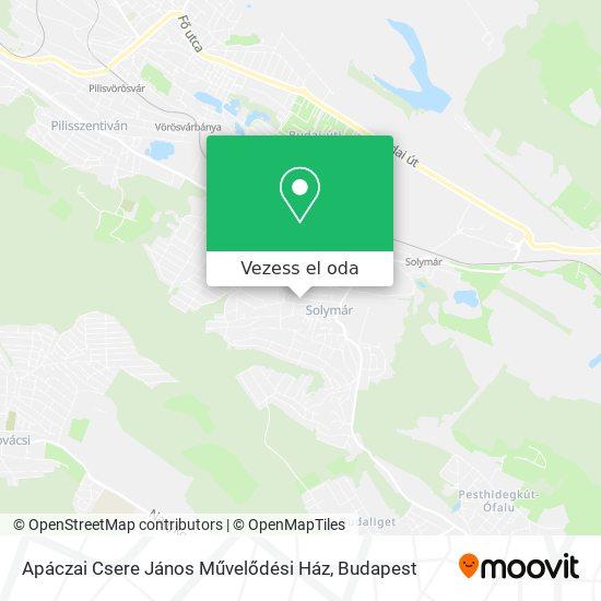 Apáczai Csere János Művelődési Ház térkép