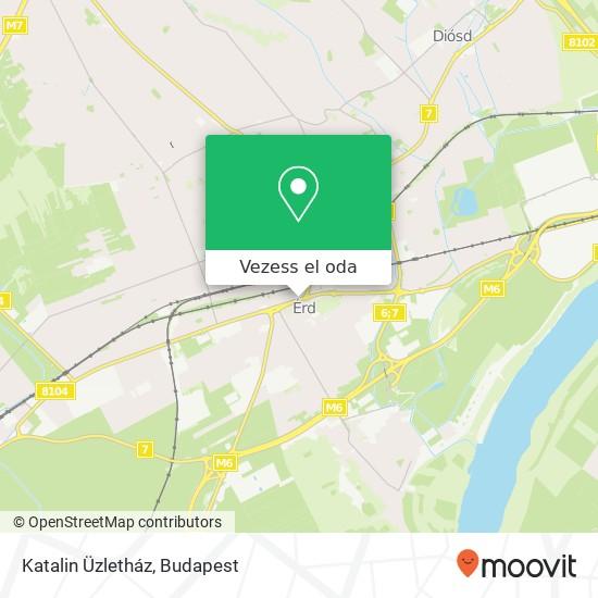 Katalin Üzletház térkép