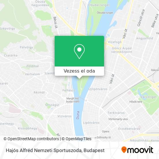 Hajós Alfréd Nemzeti Sportuszoda térkép