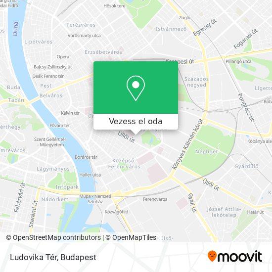 Ludovika Tér térkép