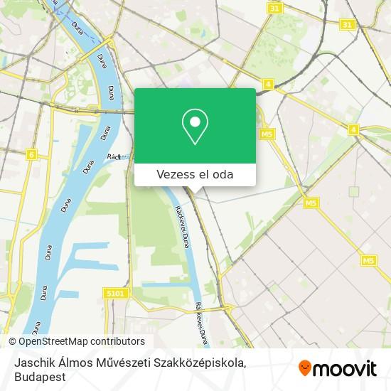 Jaschik Álmos Művészeti Szakközépiskola térkép