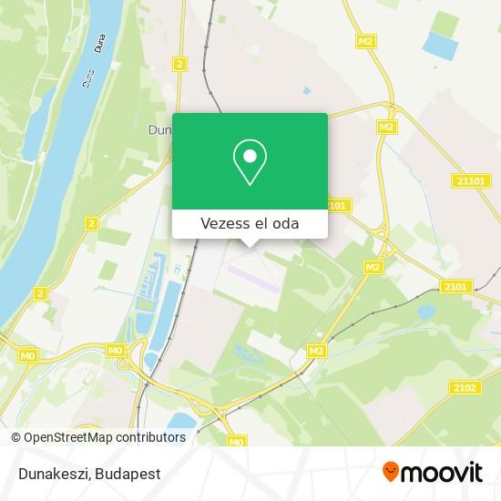 Dunakeszi térkép