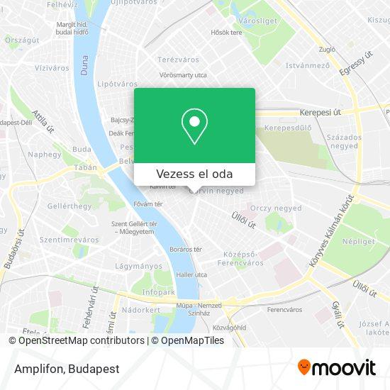 Amplifon térkép
