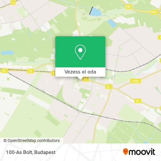 100-As Bolt térkép