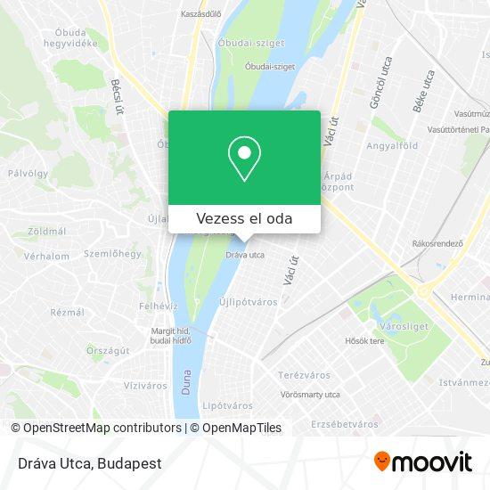 Dráva Utca térkép