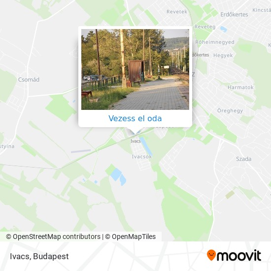 Ivacs térkép