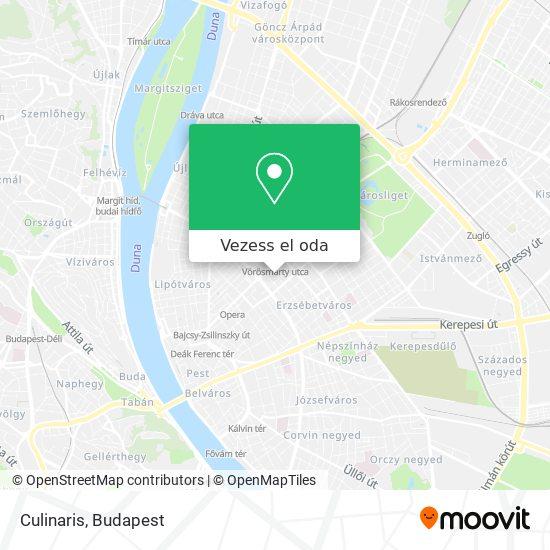 Culinaris térkép
