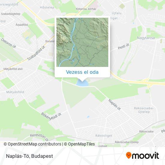 Naplás-Tó térkép