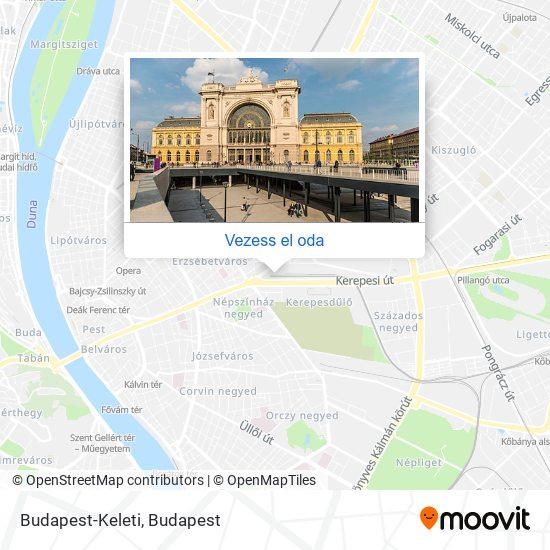Budapest-Keleti Pu. térkép
