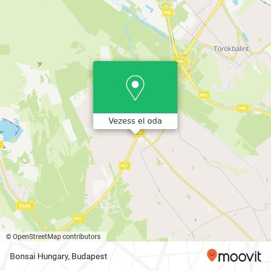 Bonsai Hungary térkép