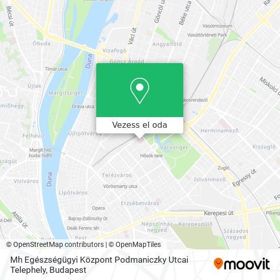 Honvéd Kórház térkép