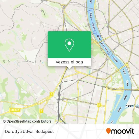 Dorottya Udvar térkép