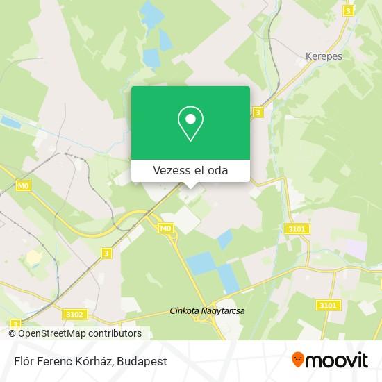 Flór Ferenc Kórház térkép