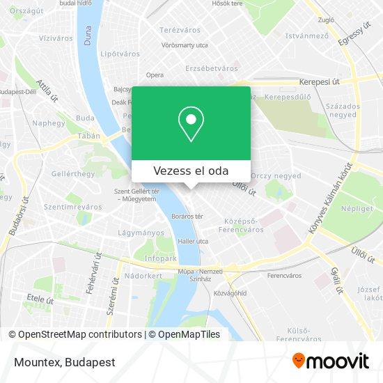 Mountex térkép