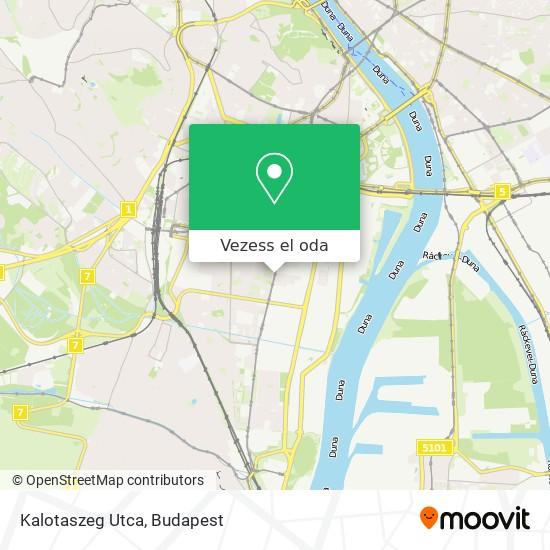 Kalotaszeg Utca térkép
