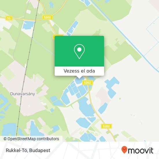 Rukkel-Tó térkép