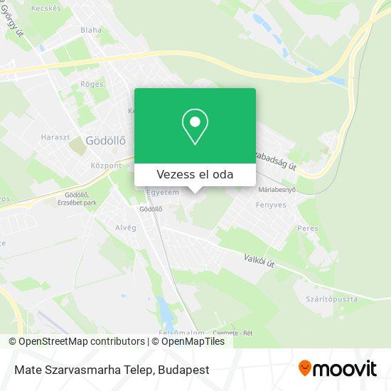 Szie Szarvasmarha Telep térkép