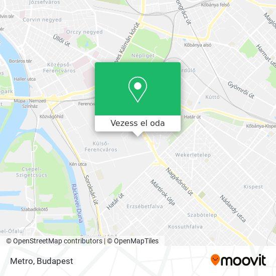 Metro térkép