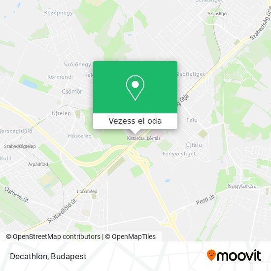 Decathlon térkép