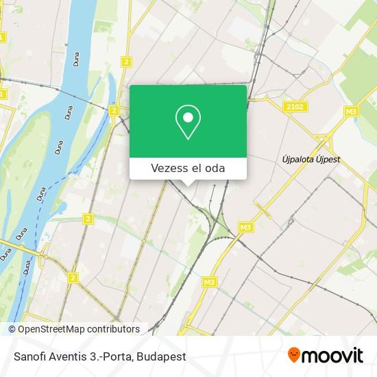 Sanofi Aventis 3.-Porta térkép