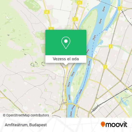 Amfiteátrum térkép