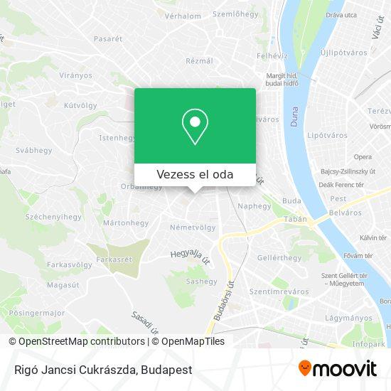 Rigó Jancsi Cukrászda térkép