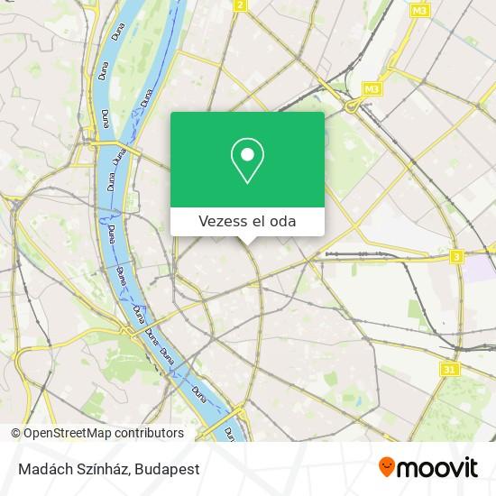 Madách Színház térkép