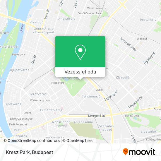 Kresz Park, Városliget térkép
