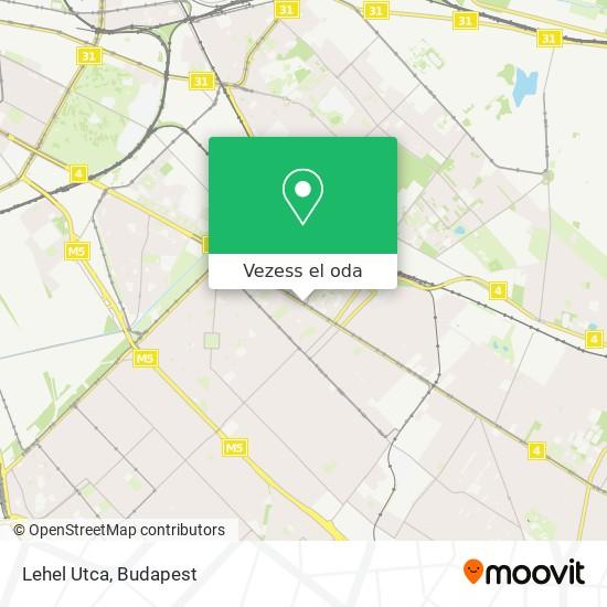 Lehel Utca térkép