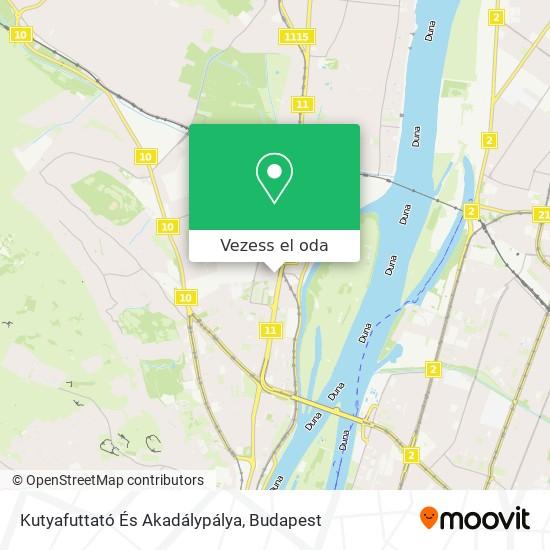 Kutyafuttató És Akadálypálya térkép