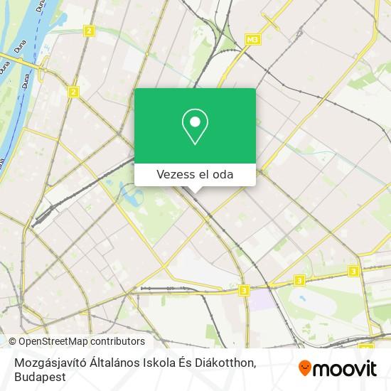 Mozgásjavító Általános Iskola És Diákotthon térkép