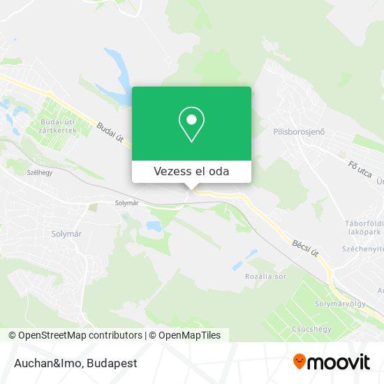 Auchan térkép