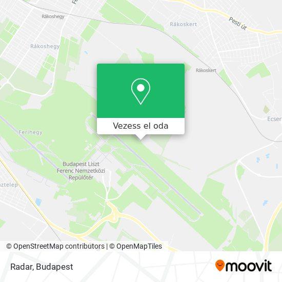 Radar térkép