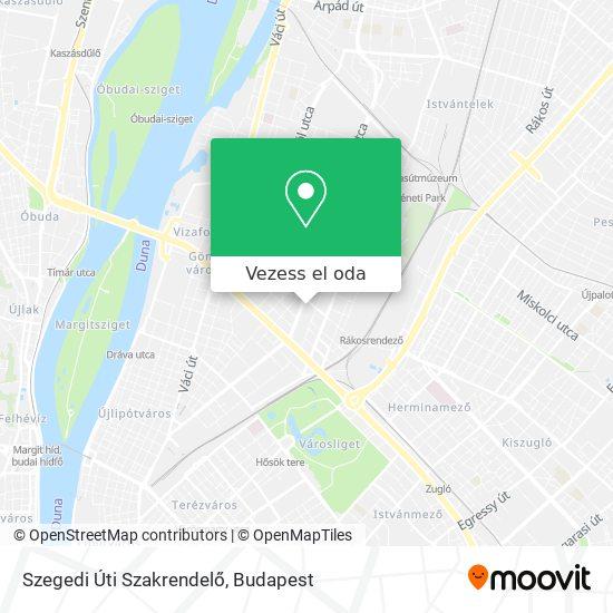 Szegedi Úti Szakrendelő térkép