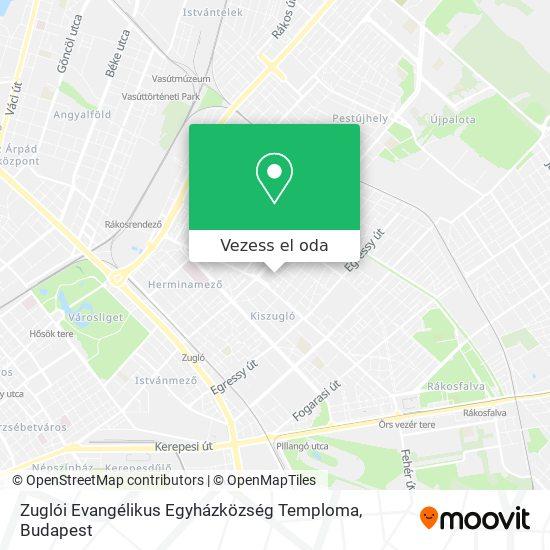 Zuglói Evangélikus Egyházközség Temploma térkép