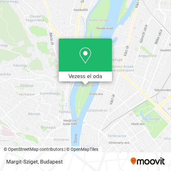 Margit-Sziget térkép